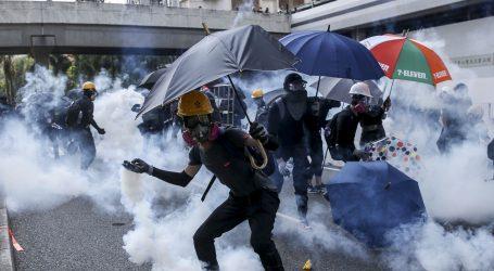 Novi sukobi prosvjednika s policijom u Hong Kongu