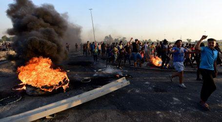 Raste broj mrtvih u sukobima prosvjednika i policije u Bagdadu