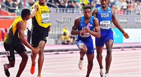 SP u Dohi završeno trijumfom američkih štafeta na 4x400m