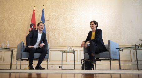 Kurz počeo pregovore o formiranju nove koalicijske vlade