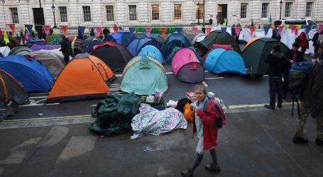 Klimatski aktivisti blokirali londonske trgove drugi dan zaredom