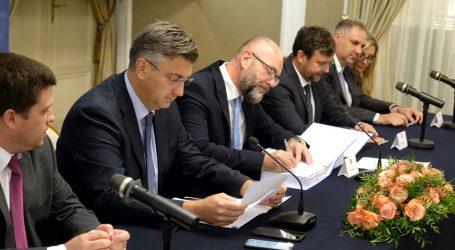 Potpisani ugovori za stonsku obilaznicu i pristupne ceste Pelješkom mostu