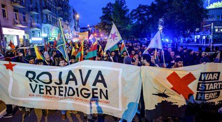 Prosvjedi diljem Europe zbog turske ofenzive u Siriji