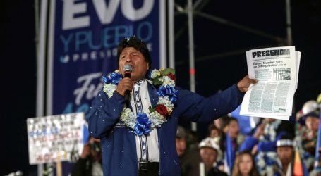 Morales vodi na predsjedničkim izborima u Boliviji