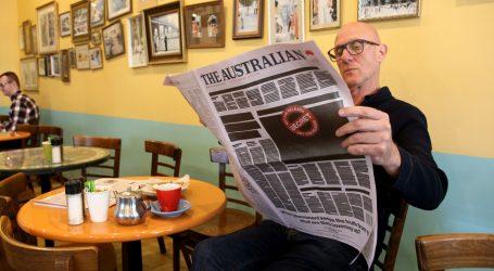 Australski listovi prosvjeduju protiv cenzure