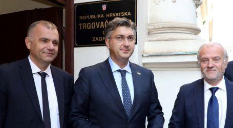 """PLENKOVIĆ """"Podići povjerenje građana u hrvatsko pravosuđe"""""""