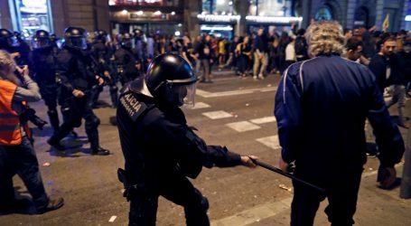 U sukobu prosvjednika i policije u Barceloni 46 ozlijeđenih