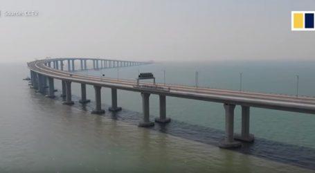 VIDEO: Najdulji most preko mora u prometu već godinu dana