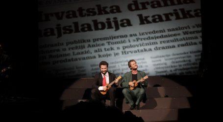 FOTO: Premijera 'Prave komedije' u HNK Ivana pl. Zajca