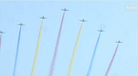 VIDEO: Nastup vojnog zrakoplovstva iznad trga Tiananmen