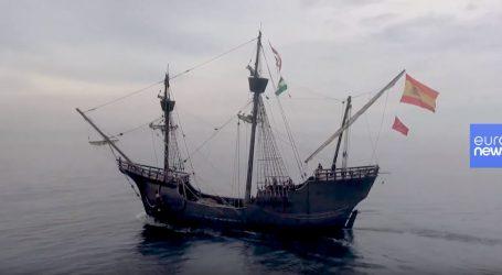 VIDEO: Replika broda Viktorija ponovno krenula na put