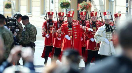 Na Markovu trgu ceremonija Velike smjene straže