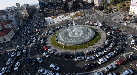 KAOS Tučnjave na blokiranim beogradskim ulicama