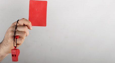 Riberyju tri utakmice kazne zbog guranja suca