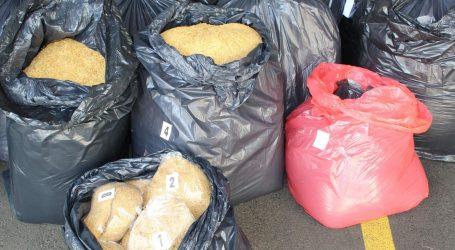 Karlovačka policija kod 41-godišnjaka pronašla 285 kilograma sitno rezanog duhana