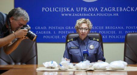 Zagrebačka policija zaplijenila preko devet kilograma amfetamina