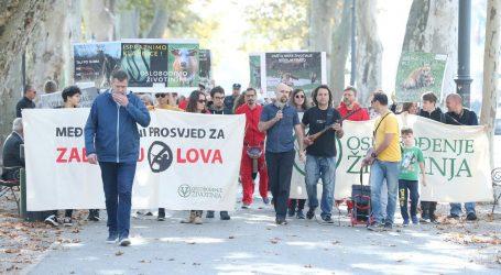U Zagrebu održan međunarodni prosvjed za zabranu lova