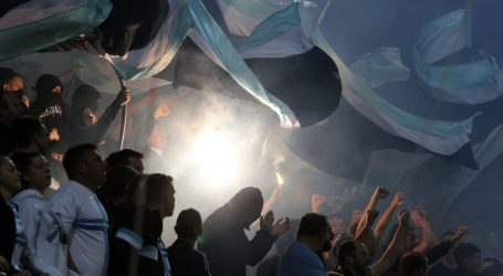 HT PRVA LIGA Armada bakljama nakratko prekinula utakmicu, u Varaždinu gledatelji vrijeđali suce