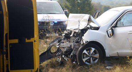 U prometnoj nesreći kod Šibenika ozlijeđene dvije osobe