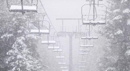 Na Sljemenu pao prvi ovosezonski snijeg