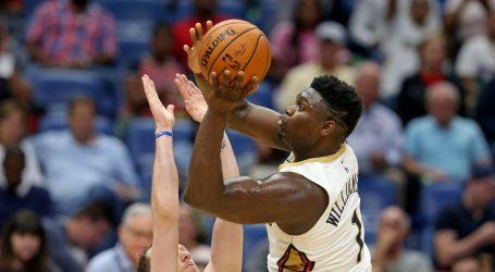 NBA: Pelicansi počinju sezonu bez Williamsona
