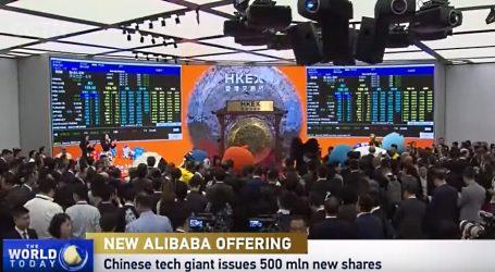 VIDEO: Alibaba Group ponovno na burzi u Hong Kongu