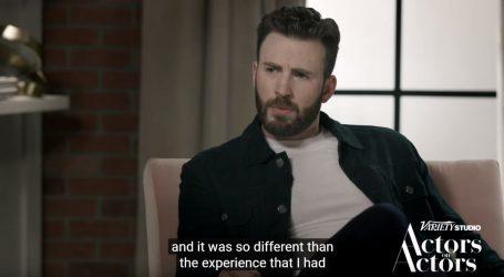 Chris Evans bi ponovno tumačio ulogu Kapetana Amerike