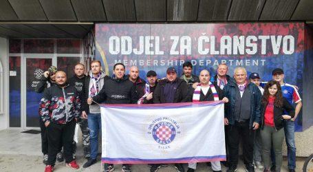 U parku Za sva vrimena i jedno od najstarijih društava prijatelja Hajduka – Sisak