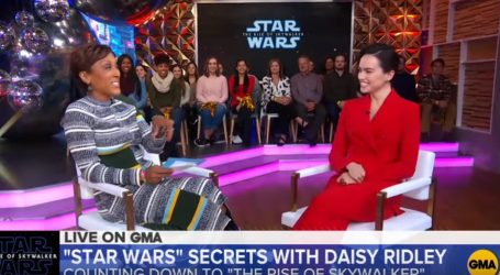 Daisy Ridley prozvala Johna Boyegu zbog curenja scenarija