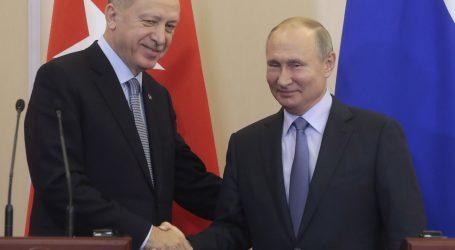Turski i ruski predsjednik razgovarali o sjevernoj Siriji