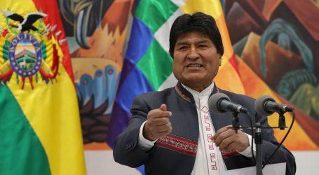 Morales objavio ostavku s funkcije predsjednika Bolivije