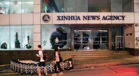 Raščišćavanje u uredima kineske novinske agencije nakon nasilnih prosvjeda u Hongu Kongu