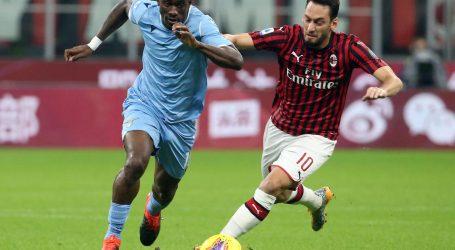 Milan – Lazio 1-2, Rebiću sat vremena