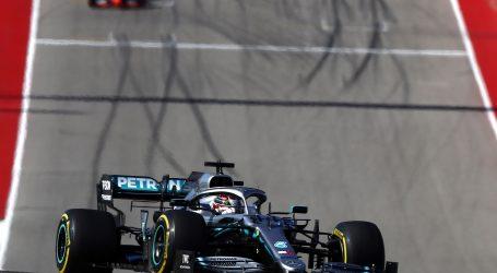 F1 Bottas pobjednik VN SAD-a, Hamiltonu šesti naslov