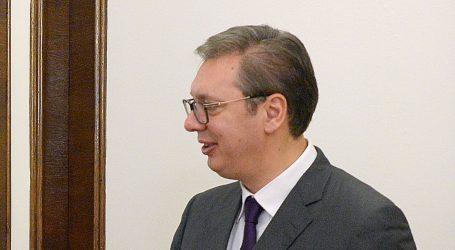 """VUČIĆ: """"Ostajem posvećen razvoju dobrosusjedstva s Hrvatskom"""""""