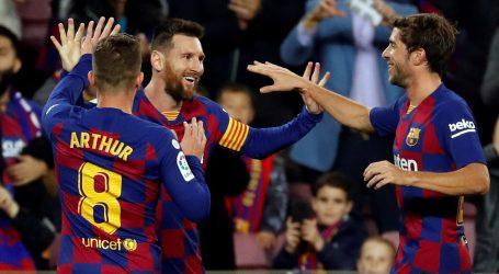 'Hat-trick' Lea Messija odveo Barcelonu na vrh