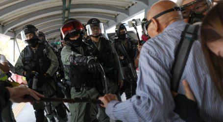 Nasilje se širi Novim Teritorijima Hong Konga u 24. vikendu nemira
