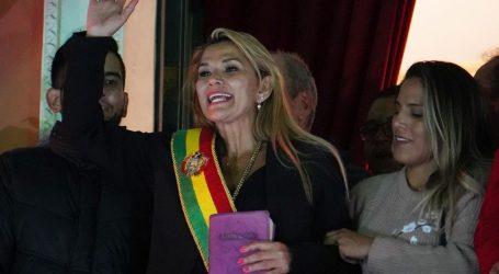 Privremena predsjednica Bolivije želi izbore u najkraćem mogućem roku