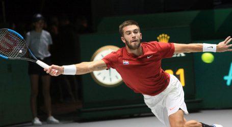 DAVIS CUP: Borna Ćorić odustao od meča s Rafaelom Nadalom