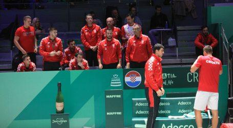 DAVIS CUP: Hrvatska upisala i drugi poraz na završnom turniru