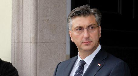 """Plenković u Zadru: """"Predsjednica i Vlada su dvije ruke jednog tijela – HDZ-a – i ponovo će pobijediti"""""""