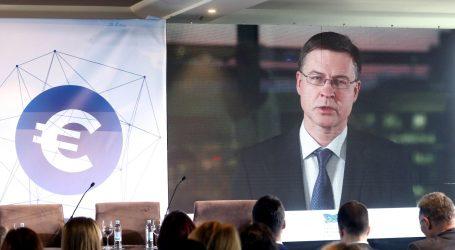 """Dombrovskis: """"Hrvatska bi u ERM II mogla ući u drugoj polovini 2020."""""""
