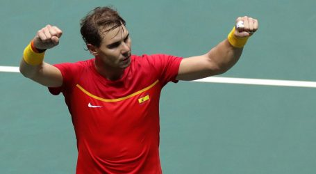 DAVIS CUP Nadal odveo Španjolsku u polufinale