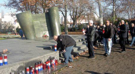 Sisački branitelji prosvjedovali zbog skrnavljenja spomenika