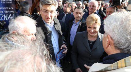 PLENKOVIĆ: 'Grabar-Kitarović ima najbolji program i pouzdan smjer budućnosti Hrvatske'