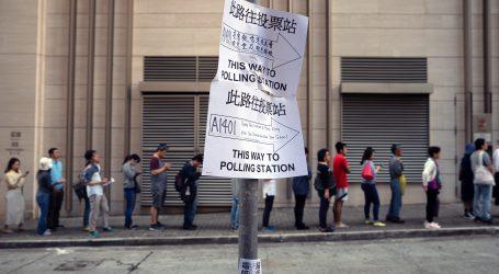 Rekordan odaziv birača na izborima u Hong Kongu