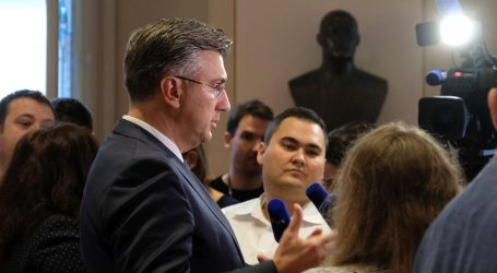 Plenković apelirao na učitelje da 'shvate što je na stolu'