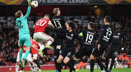 EUROPSKA LIGA Eintracht bolji od Arsenala, Sporting, LASK i APOEL prošli