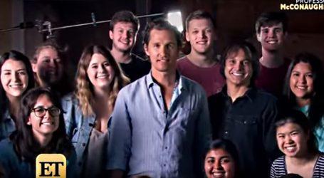Matthew McConaughey se pridružio akciji BBQ Relief