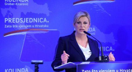 Grabar-Kitarović sutra predstavlja svoj program, ovo su ključne točke